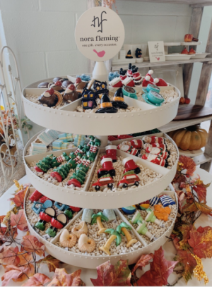 Nora Fleming Mudpie & More in Morehead City, NC | Sandy's Flower Shoppe