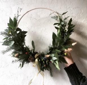 Nordic Hoop Wreath