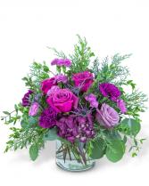 Nordic Magenta Flower Arrangement