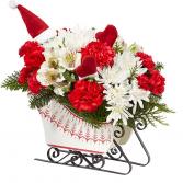 Nordic Sleigh Christmas Arrangement