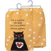 Normal Cat Lady Towel