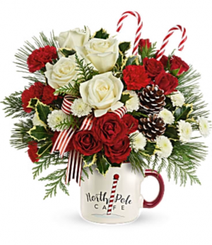 North Pole Mug  in Fort Collins, CO | D'ee Angelic Rose Florist