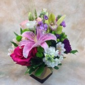 Not-so-shabby Chic Lilies