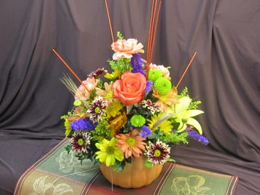 Not Your Average Pumpkin Centerpiece of Yummy~Margot's Delivery Area Only