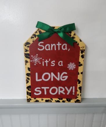 Note to Santa!
