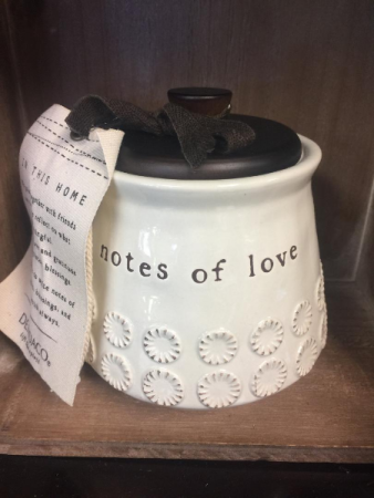 Notes of Love Jar