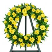 Nothing but Sunshine Sympathy Wreath