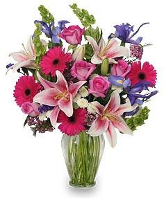 Magenta Beauty Bouquet Fresh Flowers
