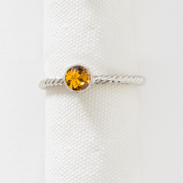 November Birthstone Ring November Birthstone Ring