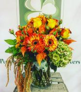 November Mood Fall Vase Arrangement