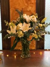 November Wedding  Wedding Reception