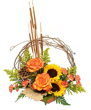 November's Crown Floral Design in Calgary, AB | MIDNAPORE FLOWER MAGIC