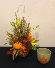 Now its Fall Keepsake Arrangement
