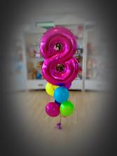 Number balloon  Balloons