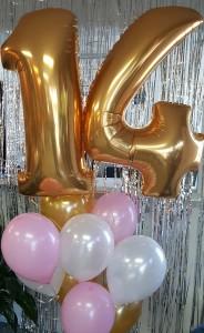 Number Balloon Bouquet Balloons