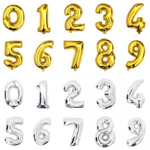 Number Foil Balloons 26