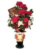 Nutcracker Mug Holiday Bouquet