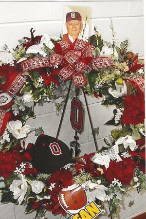 O-H-I-O silk wreath