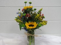 O' Happy Fall Vase Arrangement
