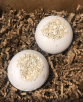 Oatmeal Honey  Bath Bomb