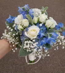 Ocean Blue Wedding Bouquet