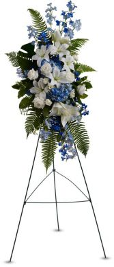 Ocean Breeze Spray Funeral Arrangement