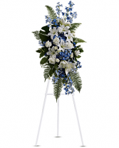 Ocean Breeze Spray Funeral Standing Spray