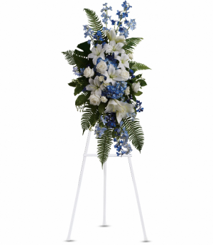 Ocean Breeze Spray Standing Easel in Rossville, GA | Ensign The Florist