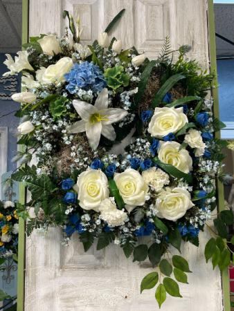 Ocean Breeze Wreath Arrangement