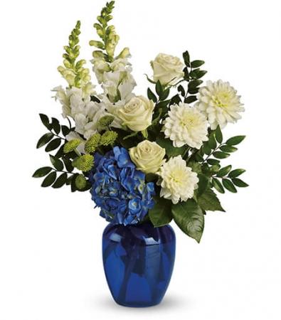 Ocean Devotion         T163-1 Vase Arrangement