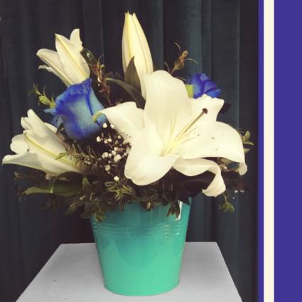 oCean pacific Flower Arrangment