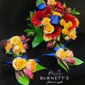 Ocean Sunset Wedding Wedding Flowers