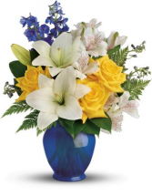 Oceanside Garden Flower Arrangement
