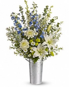 Oceanside  Funeral Arrangement appropriate for the home or funeral home