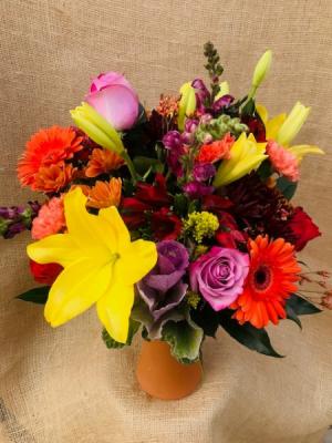 October Fest Fresh Vase Arrangement in Coleman, WI   COLEMAN FLORAL & GREENHOUSES