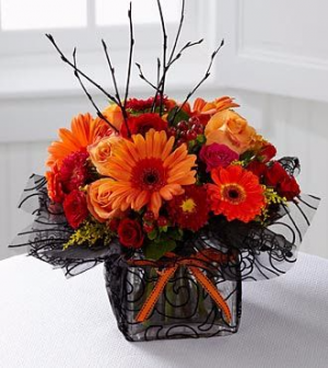 October Night! Arrangement in Winston Salem, NC | RAE'S NORTH POINT FLORIST INC.