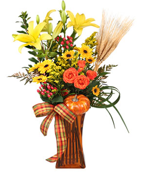 OCTOBER OFFERINGS Fall Arrangement in Chatham, NJ | SUNNYWOODS FLORIST