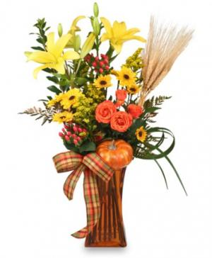 OCTOBER OFFERINGS Fall Arrangement in Cuba, MO | A LASTING IMPRESSION