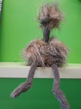 Odette Ostrich Stuffed animal