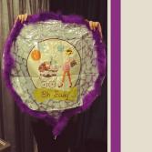 Oh Baby Mylar Balloon