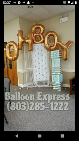 OH BOY  Balloon