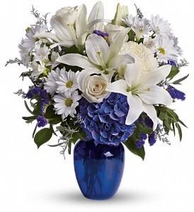 Blooms of Blues Floral Bouquet