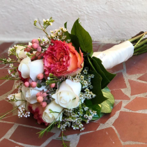 Oh Coral Hand Bouquet