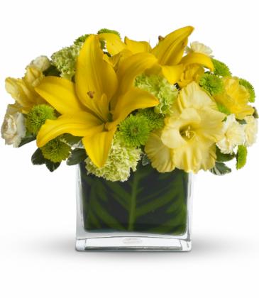 Oh Happy Day All-Around Floral Arrangement