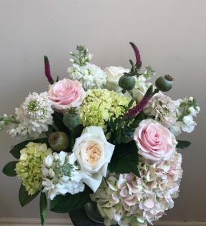 O'Hara's Garden  Vase Arrangement in Northport, NY | Hengstenberg's Florist