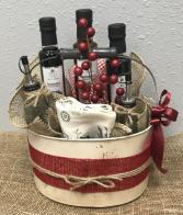 Oil & Vinegar Gift Basket