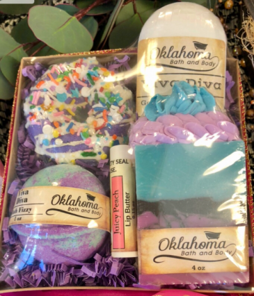 Oklahoma Bath and Body  Gift Box