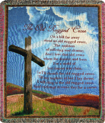 Old Rugged Cross Throw