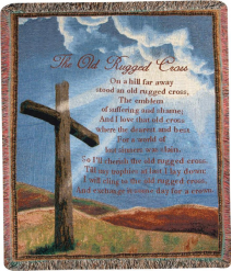 Old Rugged Cross Throw Local Delivery Only