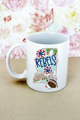 Ole Miss Rebel Mug